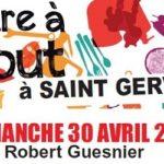 Foire à tout à Saint Gervais