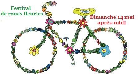 Vélo fleuri Une