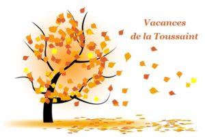 Vacances Toussaint